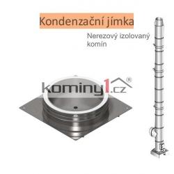 Kondenzační jímka - pro nerezové izolované komíny