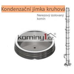 Kondenzační jímka kruhová - pro nerezové izolované komíny