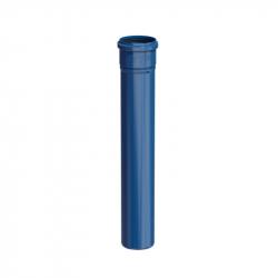 Plastový díl 500 mm v pr. 80 mm - modrý plast