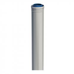 Dvoustěnný (koaxiální) rovný díl v pr. 80/125 mm v délce 1 m
