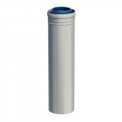 Dvoustěnný (koaxiální) rovný díl v pr. 80/125 mm v délce 0,5 m