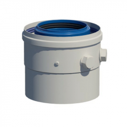 Dvoustěnný (koaxiální) měřící prvek v pr. 80/125 mm