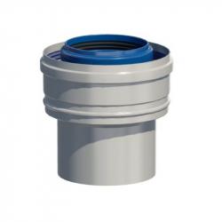 Dvoustěnný (koaxiální) redukce D 60/100 - 80/125 mm