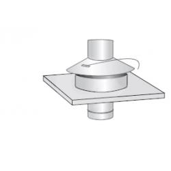 Krycí deska nerez flex v pr. 110 mm