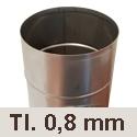 Komínové vložky tl. 0,8 mm